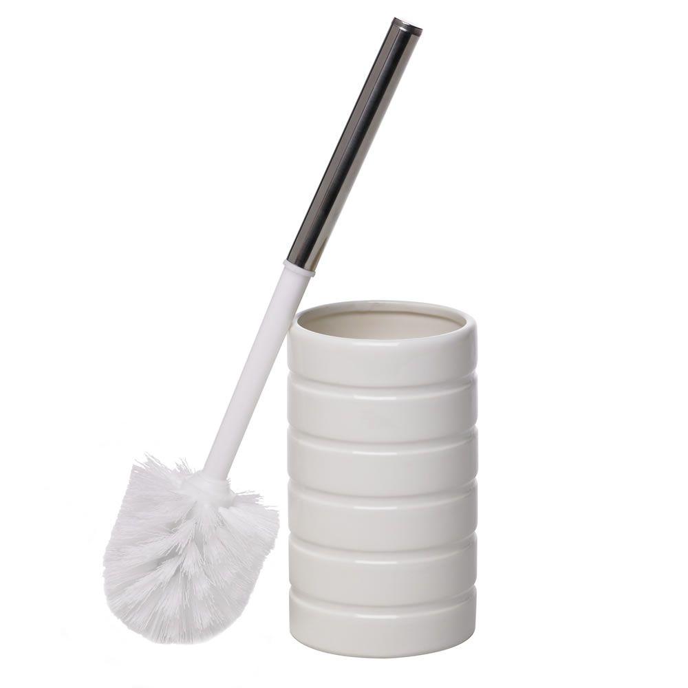 Wilko Toilet Brush Holder White At