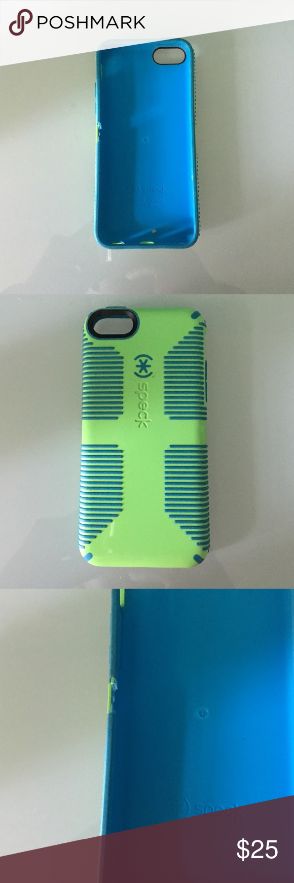 Selling this Iphone 5C speck grip case on Poshmark! My username is: claracathryn. #shopmycloset #poshmark #fashion #shopping #style #forsale #speck #Other