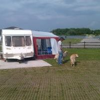 Full Dorema Caravan Awning Steel Poles And Storm Strap Good Condition Caravan Awnings Awning Camping Equipment