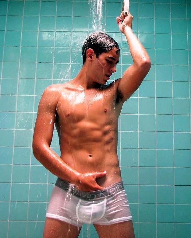 Gay Man Shower Underwear