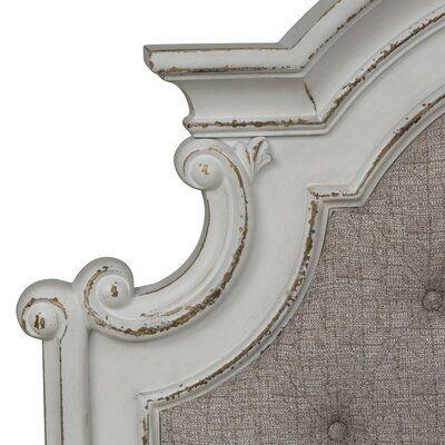 One Allium Way Treport Upholstered Panel Headboard Panel