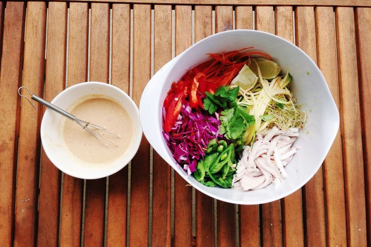 Raw Vegan Coconut Pad Thai