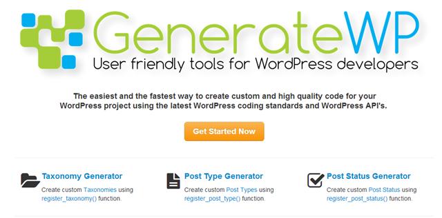 12 generadores de código para desarrollo de WordPress | Tema de ...