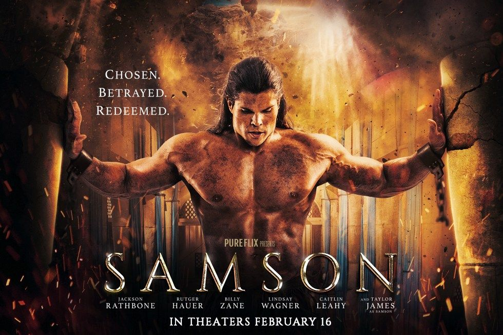Samson (2018) Hindi Dubbed DVDRip Full Movie Download | The bible movie, Hd  movies download, New hollywood movies