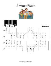 Simplified Primary songs (Piano music for pre-reading
