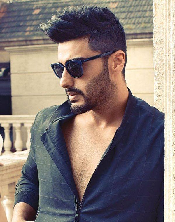 Arjun Kapoor Photoshoot For Maxim Magazine October 2015 Arjun Kapoor Hairstyle Boy Hairstyles Bollywood Hairstyles
