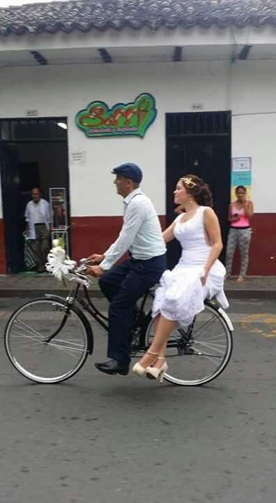 Transporte de la novia