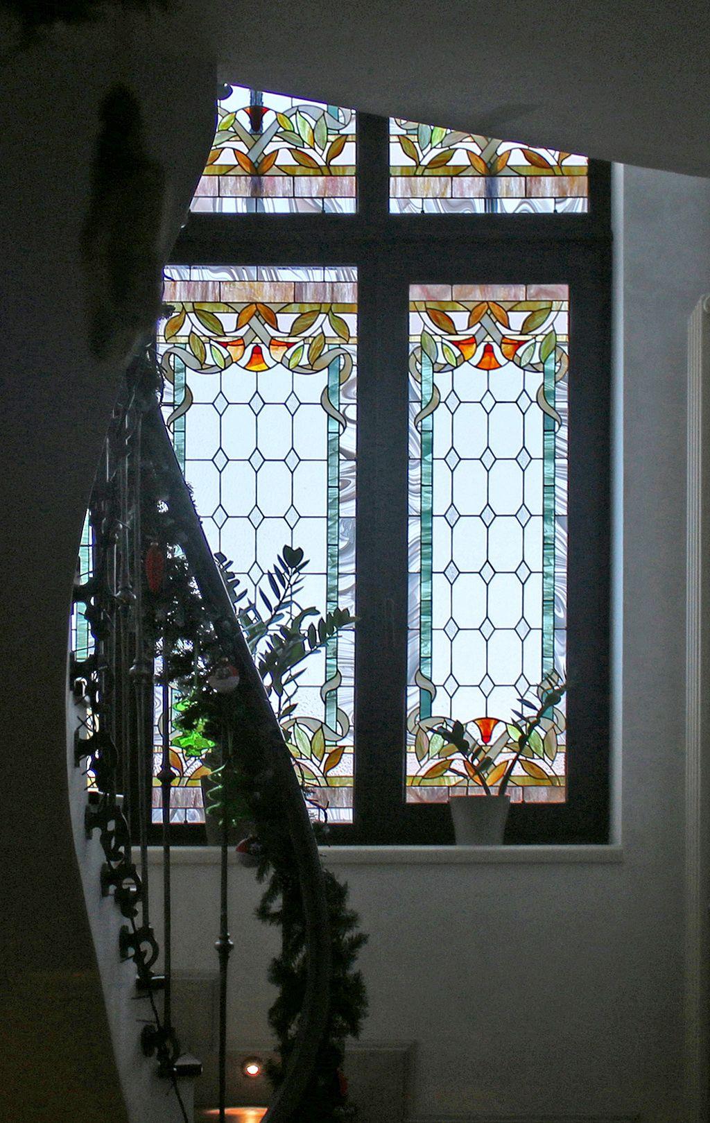 Обои лестница, Цвет, Витраж, стекло, окно. Города foto 7