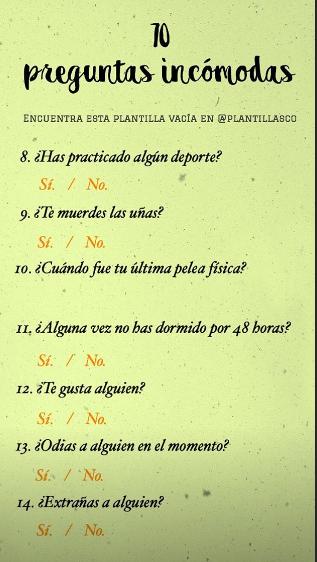 Encuesta 2 Preguntas Divertidas Preguntas Incomodas Preguntas Profundas