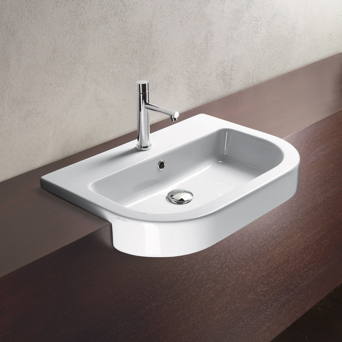 Catalano Zero Tondo Semi Recessed Washbasin   Rogerseller