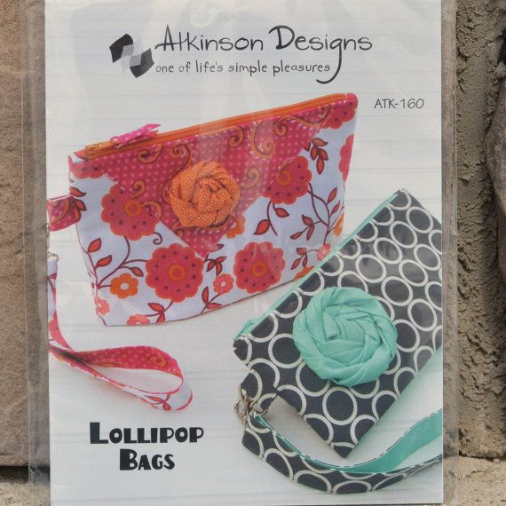 Atkinson Designs Lollipop Bags PATTERN..etsy