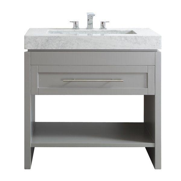 Bowdon 36 Single Bathroom Vanity Single Bathroom Vanity Marble