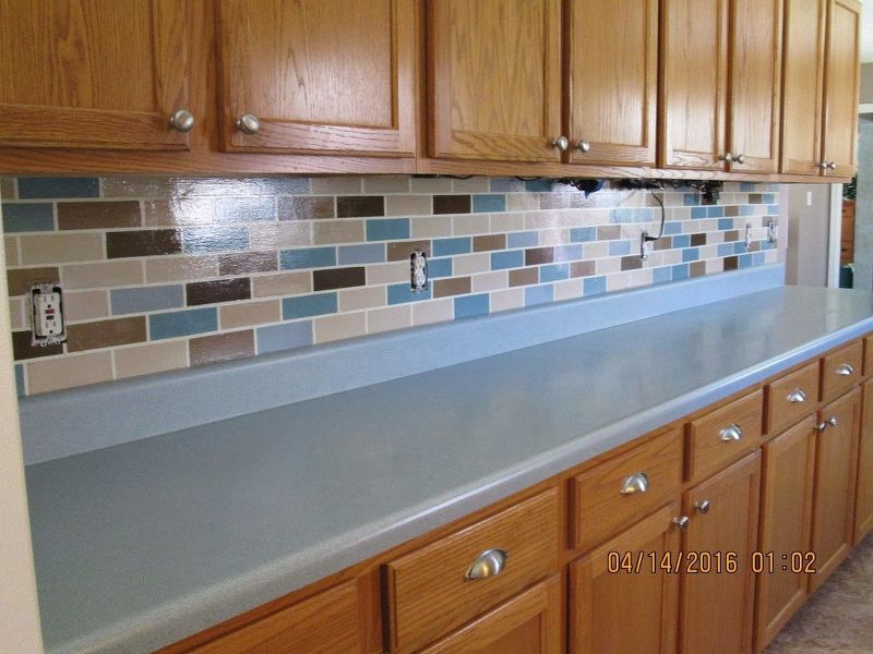 easy cheap backsplash upgrade | BUILD / REDO / RECYCLE | Pinterest