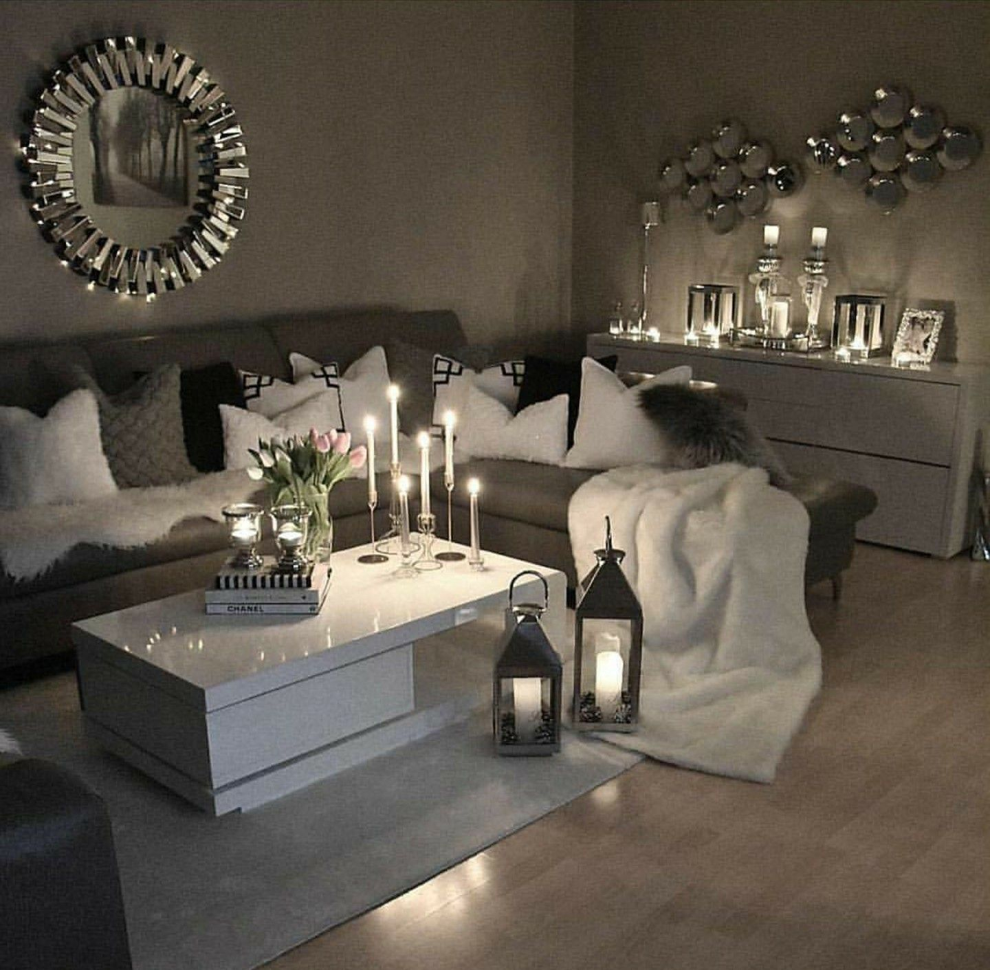 Pin By Luv 2 Fashion On Home Living Room Grey Living Room Decor Cozy Apartment Living Room