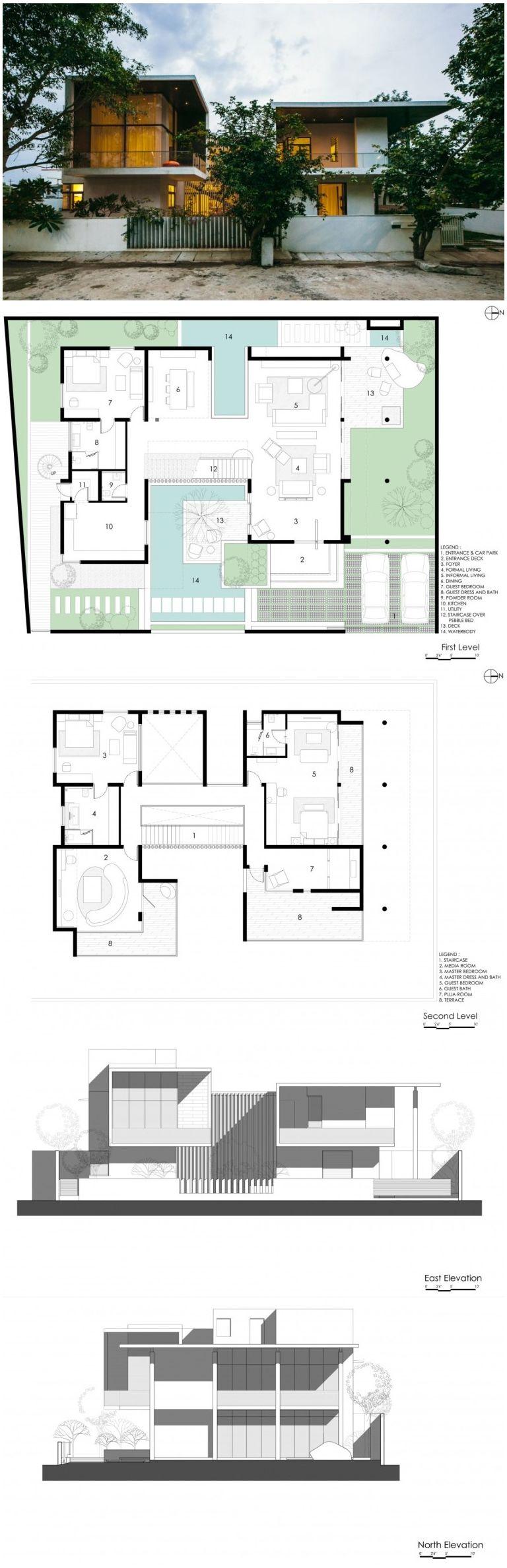 courtyard houseabin design studio | courtyard house, studio