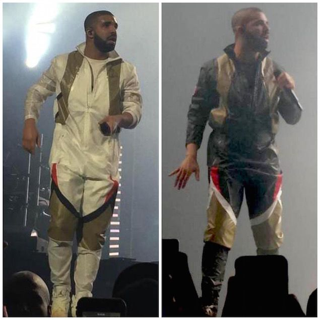 Drake Wears Jordan Flight Suits and Air Jordan 8 OVO Sneakers at OVO Fest |  UpscaleHype