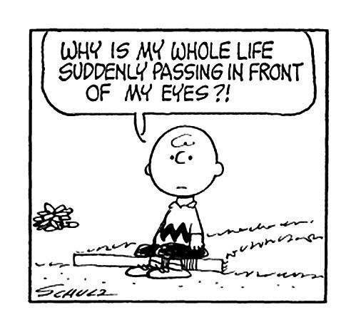 It's your anniversary, Charlie Brown