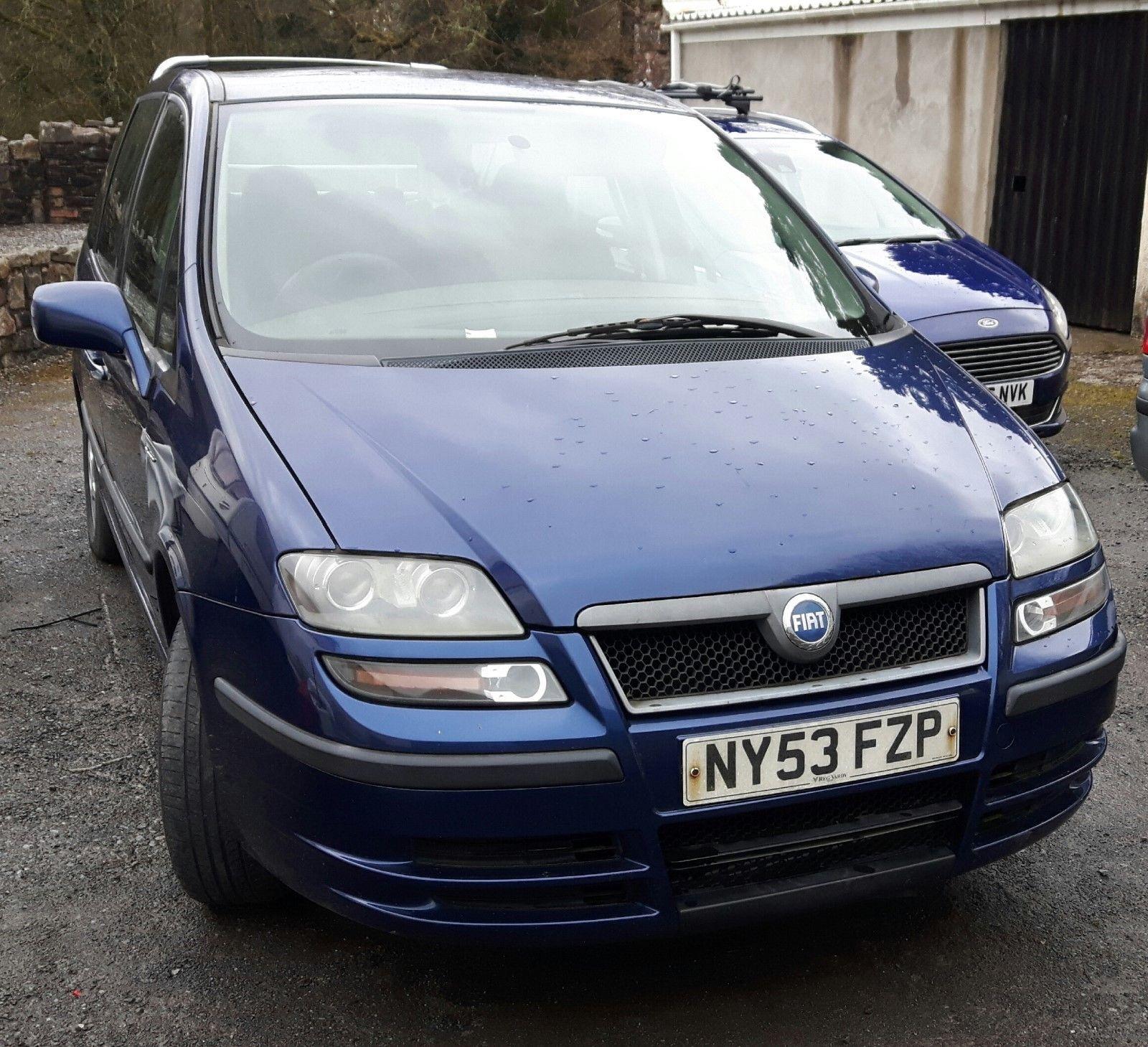 eBay: 2004 FIAT ULYSSE 2.0 Diesel 7 Seater - Selling for Spares or ...