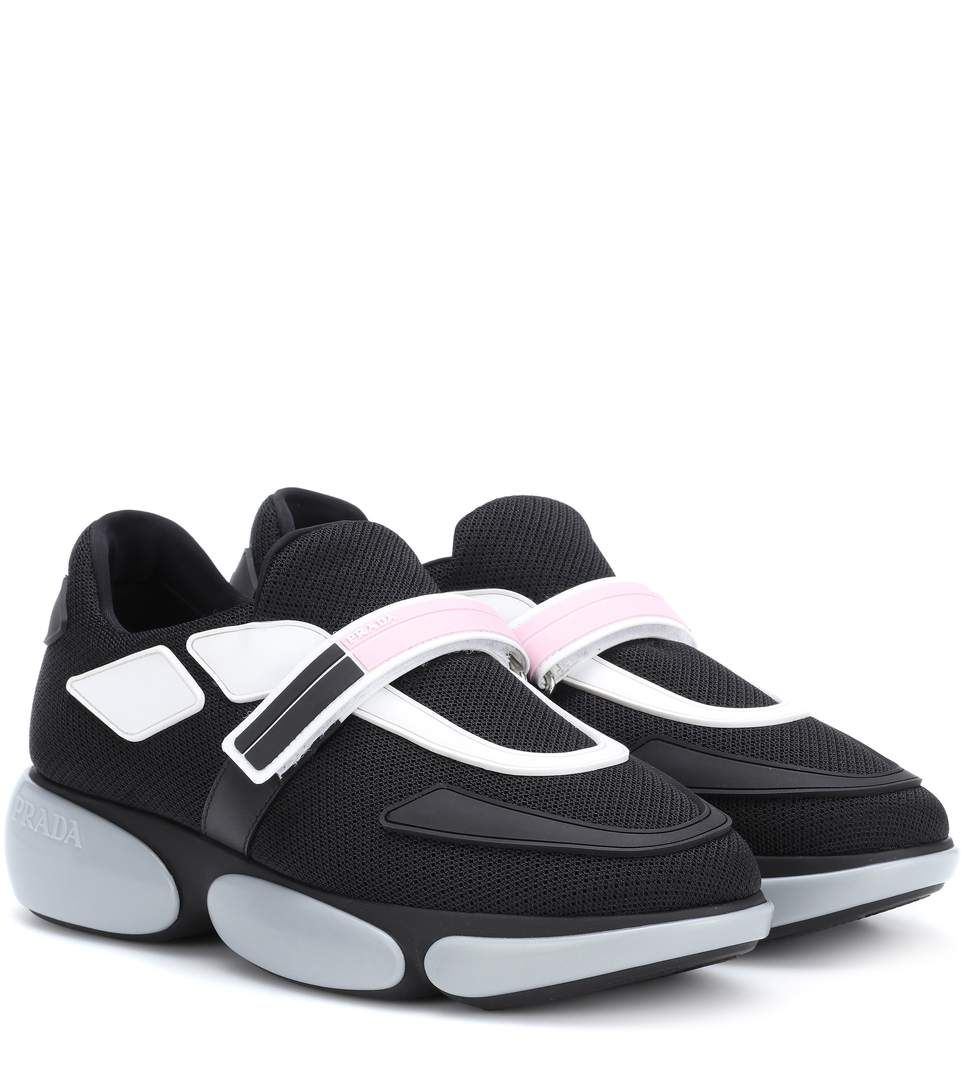 Prada Cloudbust fabric sneakers | Prada