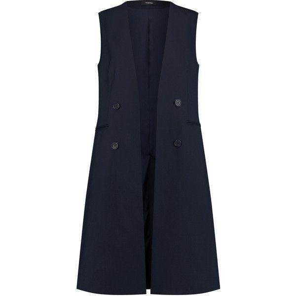 Designer Clothes, Shoes & Bags for Women   SSENSE. Navy Blue VestBlue ...
