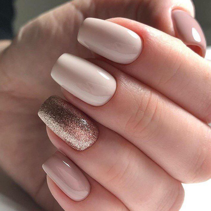 Unghii Nud Cu Gel Poze Unghii în 2019 Elegant Nails Short Nail