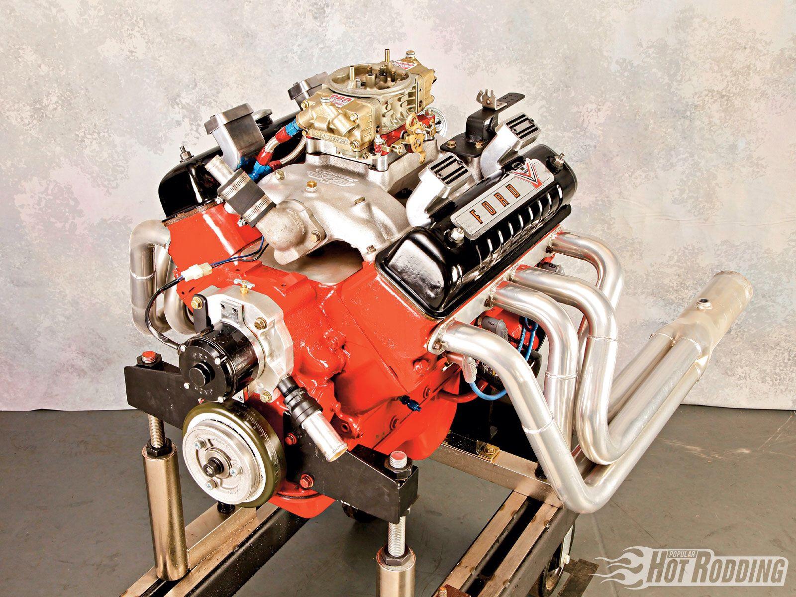 Y Block Car Engine Engineering Ford Motor
