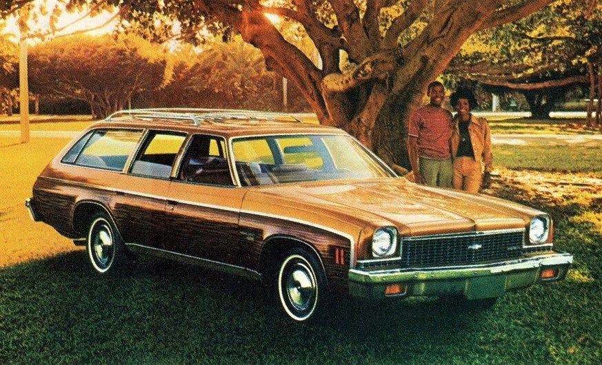 1973 Chevy Malibu Classic Station Wagon Chevrolet Malibu