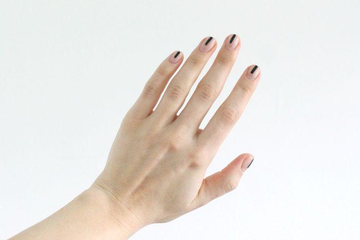 25 llamativos y minimalistas diseños de arte para las uñas ...