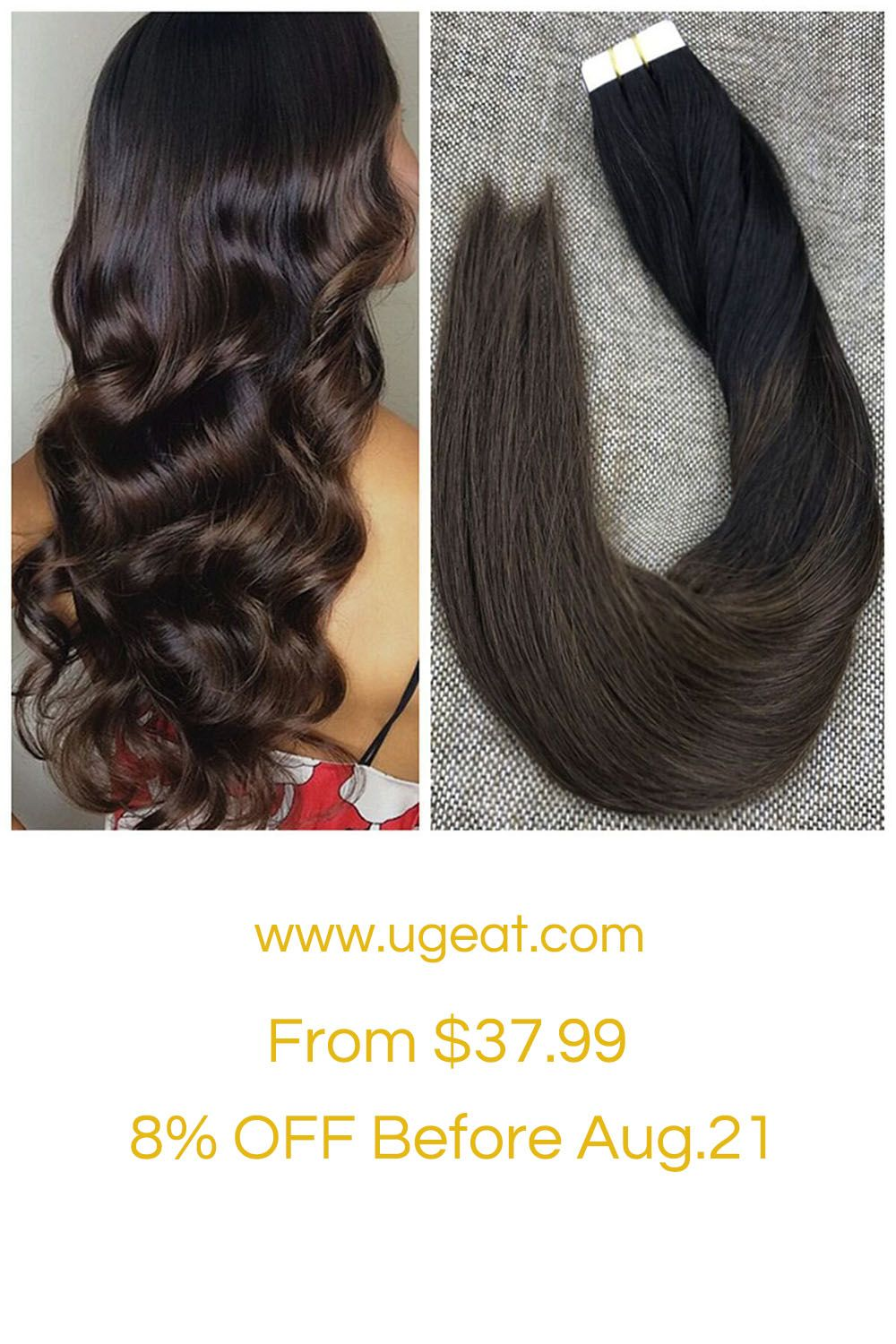 Black To Brown Ombre Color Hair Make You Hair Thicker And Fuller