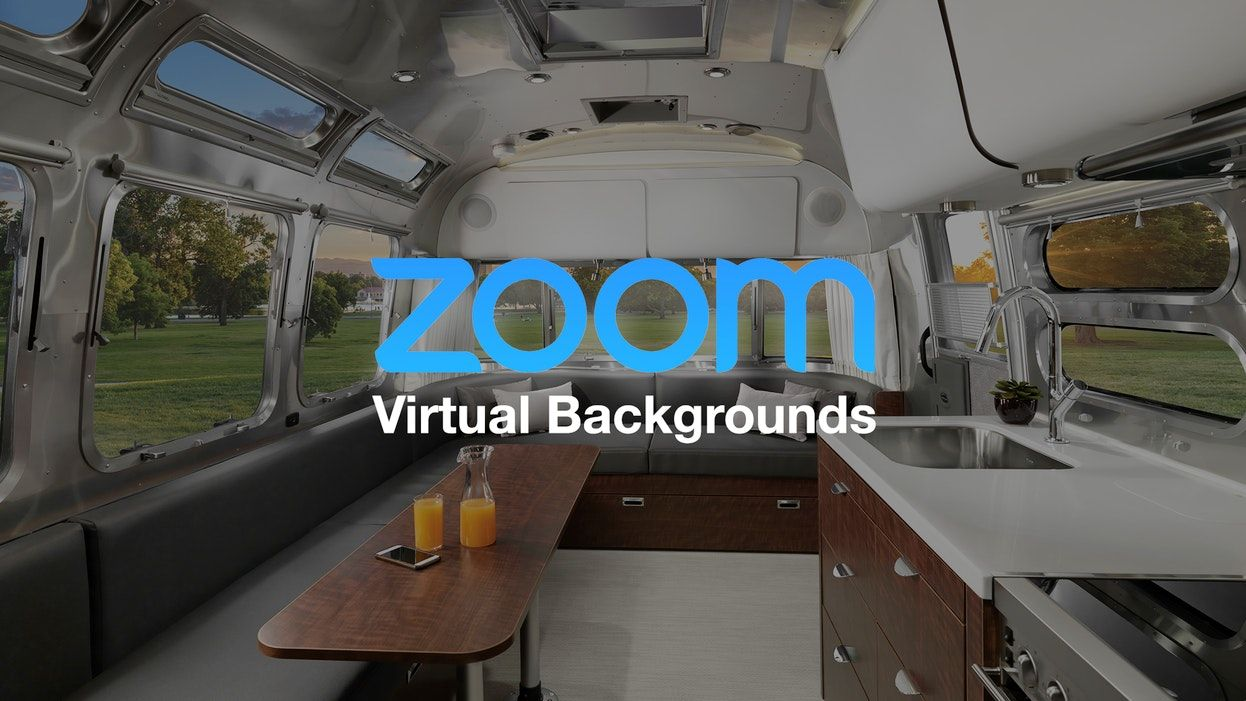 Airstream Backgrounds For Zoom Calls Background Zoom Call Airstream