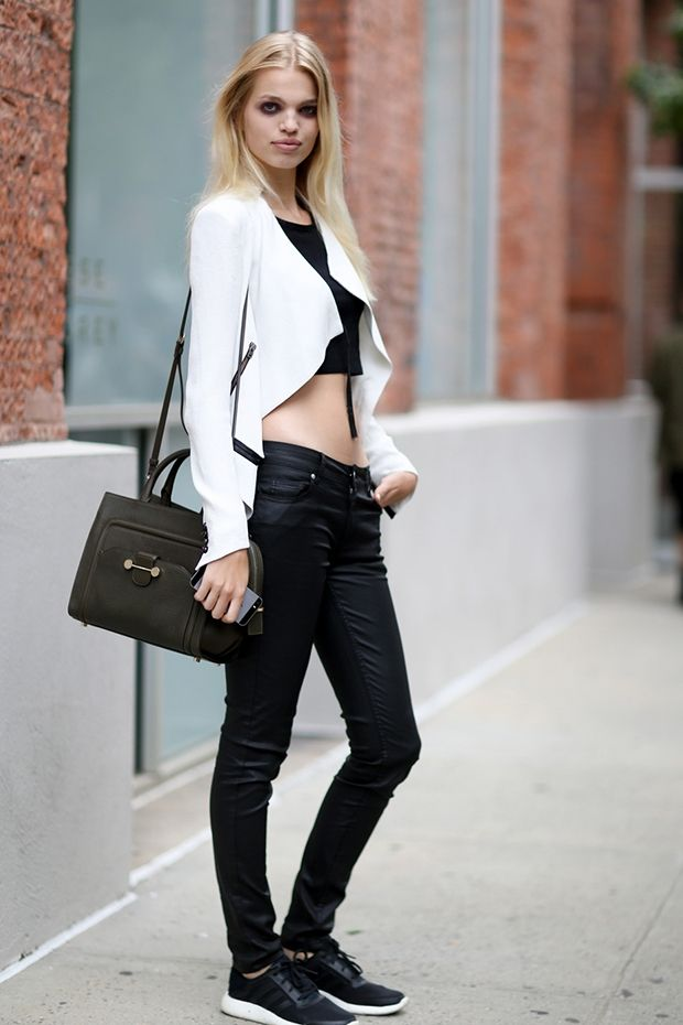best off duty model street style outfits new york ss15 daphne groeneveld