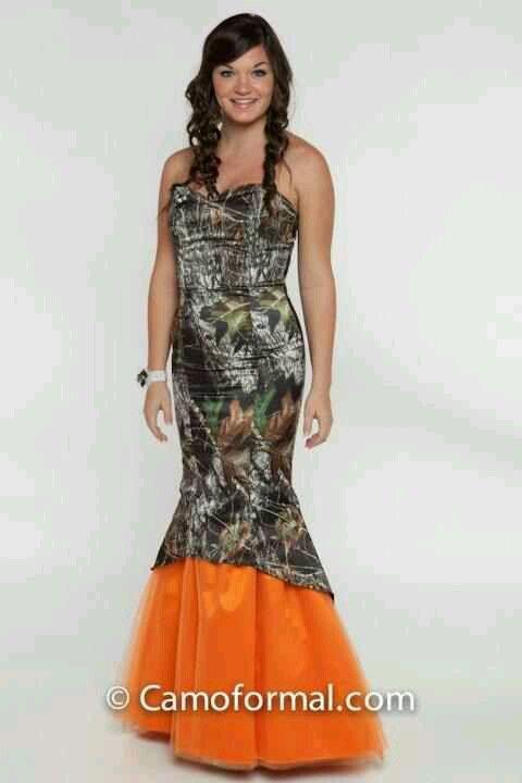 My prom dress! Haha jokess   Fashion   Pinterest   Camo, Prom and ...