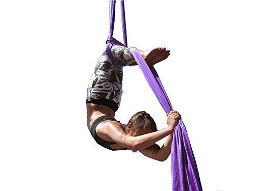Aerial Silks Standard Kit Pilates Yoga Flying Swing Aerial Yoga Hammock