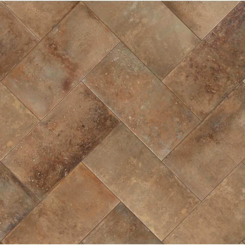 Florida Tile Home Collection Mesa Sand 12 In X 24 In Porcelain Floor And Wall Tile 13 62 Sq Ft Case Chdecd0512x24 The Home Depot Porcelain Flooring Flooring Durable Tiles