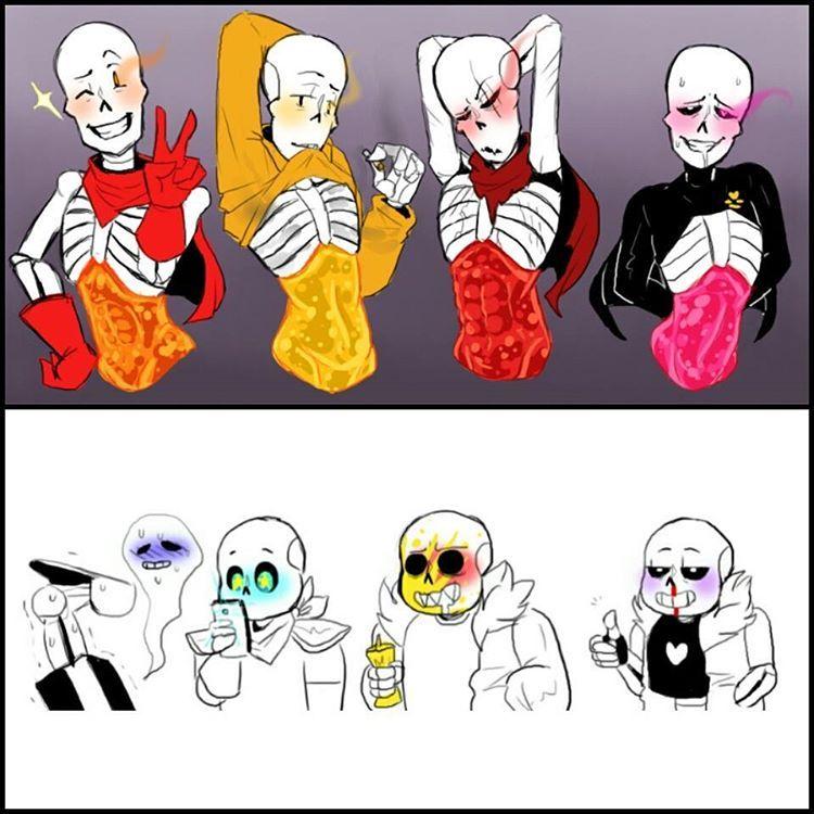 7u7 Hehe 1\3 By: Nsfwshamecave #undertale #sans #papyrus