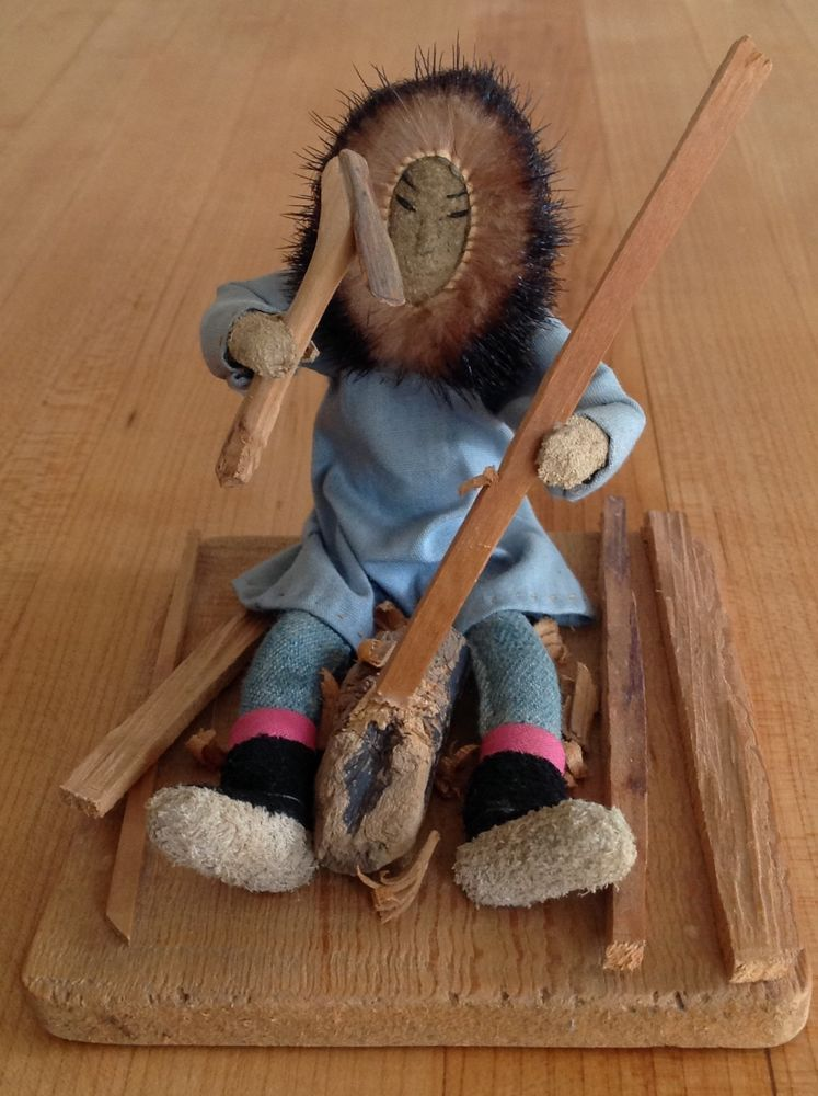 Details about Alaskan Eskimo Activity Doll, Martina Oscar, Yupik