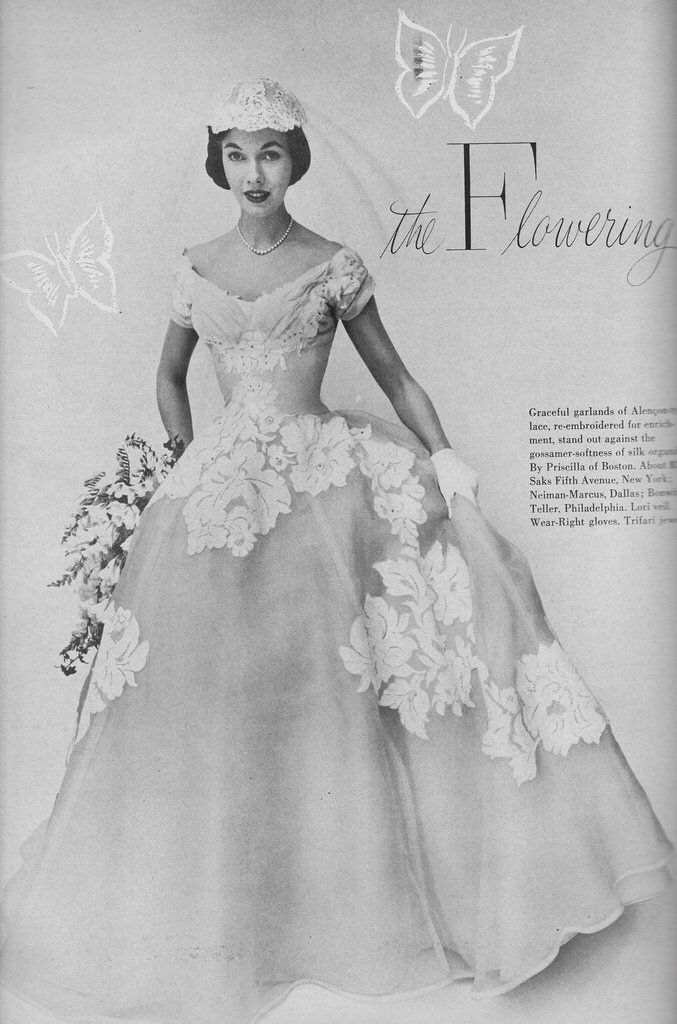 House Beautiful\'s Guide for the BRide 1955 (3) | Vintage | Pinterest