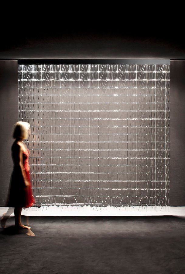 Tile: the light wall by Fabbian One module, endless compositional ...