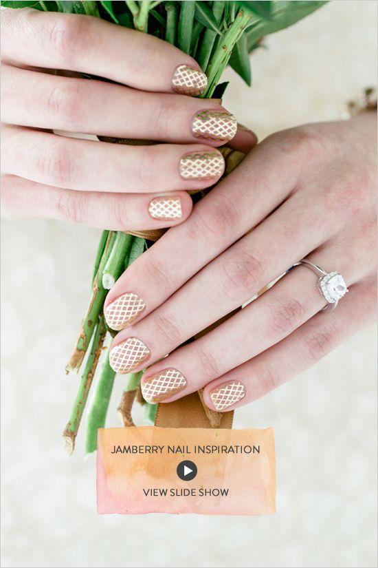 Jamberry Nail Tutorial + Nail Inspiration | Jamberry, Jamberry ...