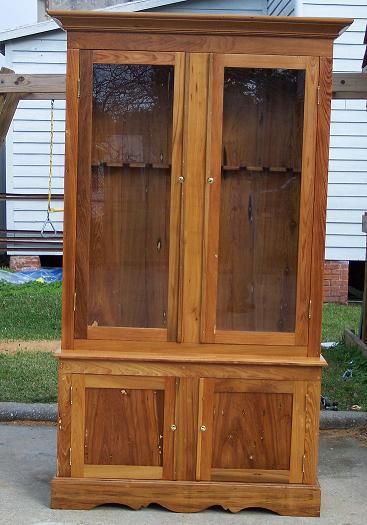 basic gun cabinet plans build gun cabinet plans wood gun rh pinterest com