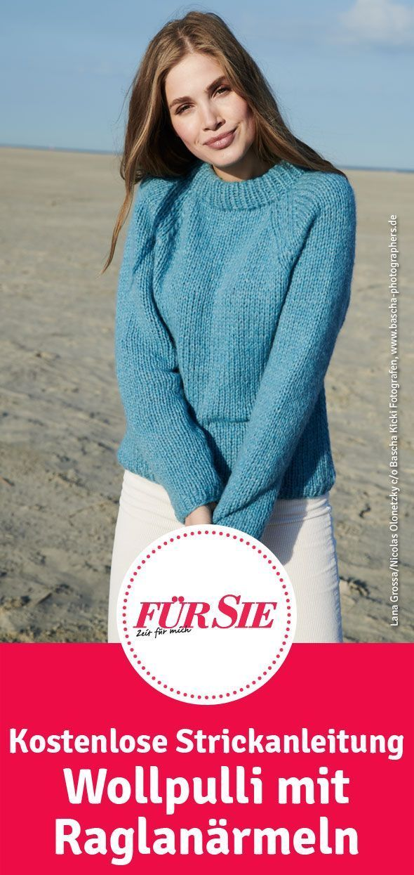 Photo of Wollpullover mit Raglanärmeln   – Pullover stricken – #mit #Pullover #Raglanär…