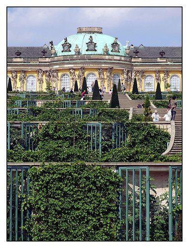 08 09 02 13 59 Potsdam Park Sanssouci Schloss Sanssouci Georg Wenzelslaus V Knobelsdorffs Dream Travel Destinations Royal Residence Architecture