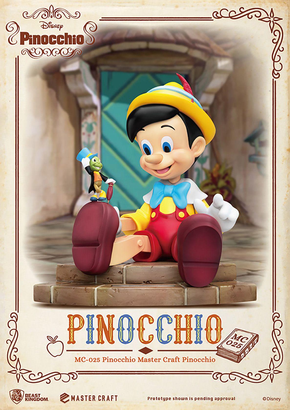 Pinocchio Master Craft Statue in 2020 Pinocchio, Disney