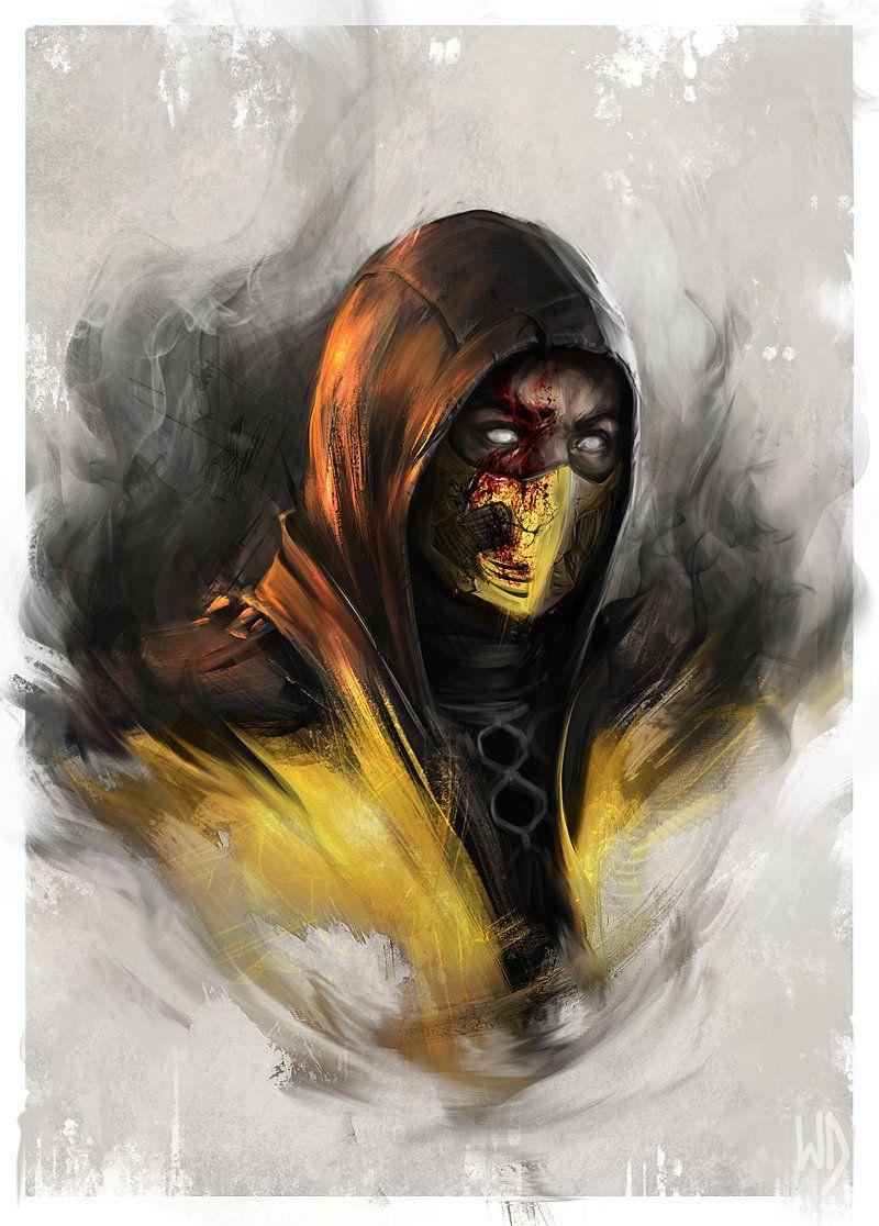 Mortal Kombat Portraits Created by Wojciech