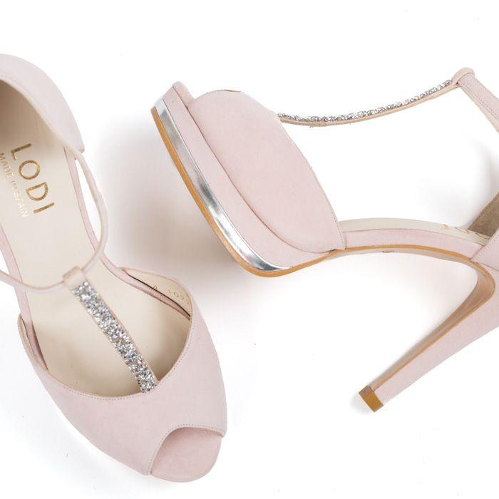 4d1c47b64 LODI Pauli Rosa en 2019 | I ♥ Zapatos | Wedding shoes, Bride shoes ...