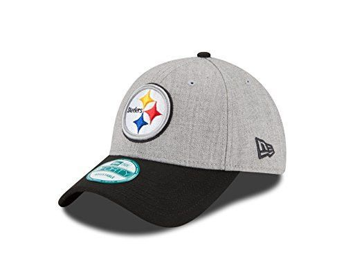 c3b580ef5906ab NFL Pittsburgh Steelers The League Heather 9forty Adjustable Cap, Heather,  One Size