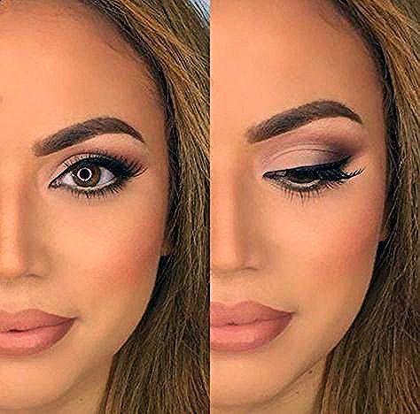 Augen Make-up - 30 Hochzeits Make-up Ideen für Bräute - Bridal Glam - Romantische make ...