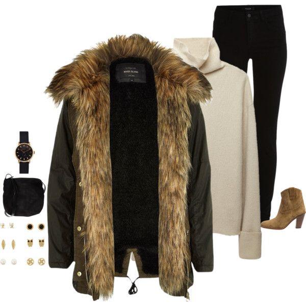 River island fur parka jacket