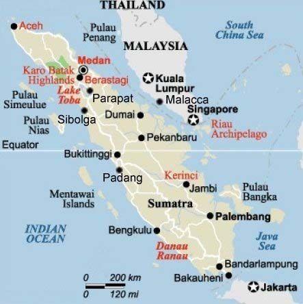 Map of sumatra indonesia pinterest indonesia travel advice map of sumatra publicscrutiny Image collections