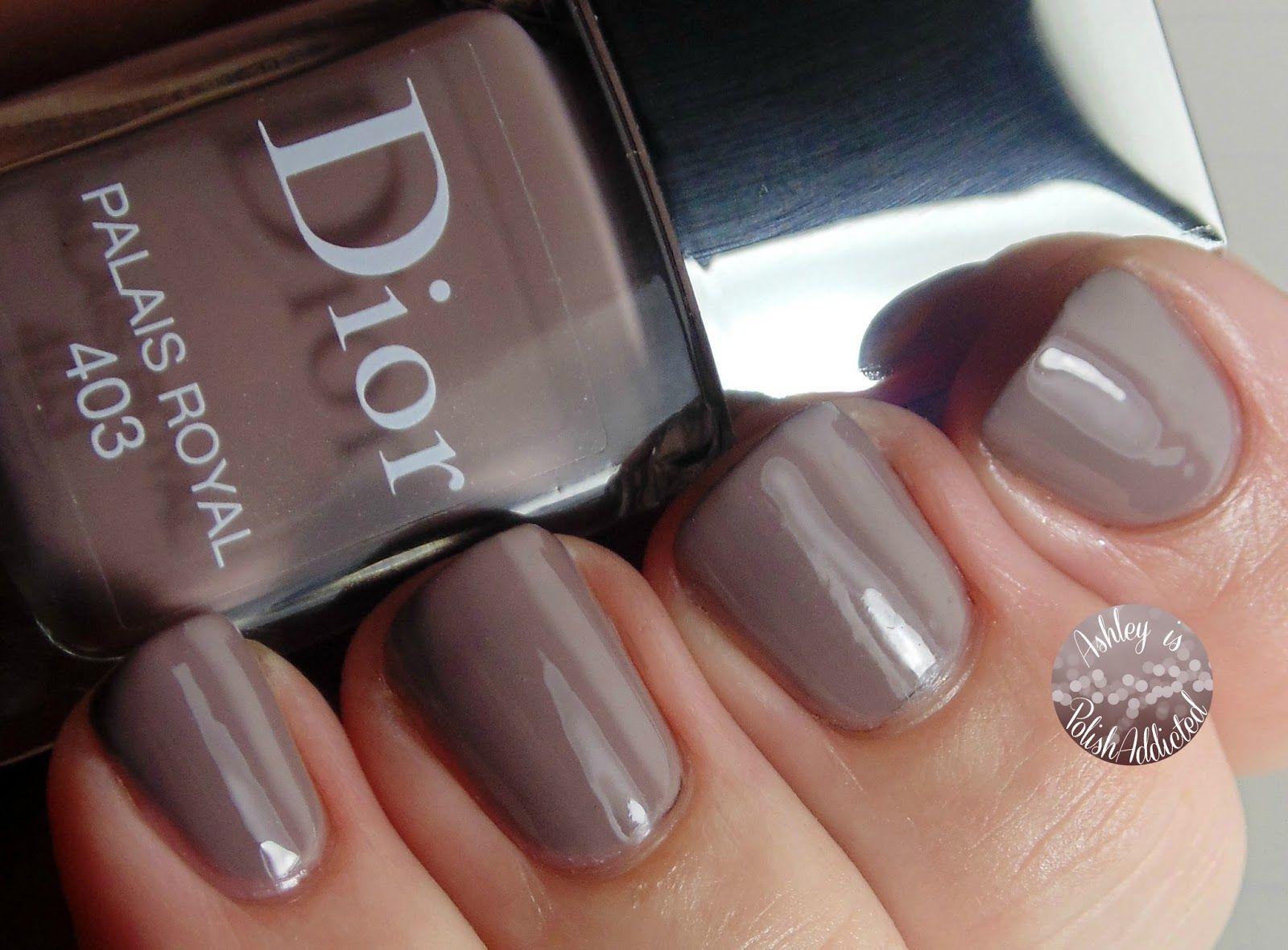 Ashley is PolishAddicted: Dior Palais Royal - Swatches and Review ...